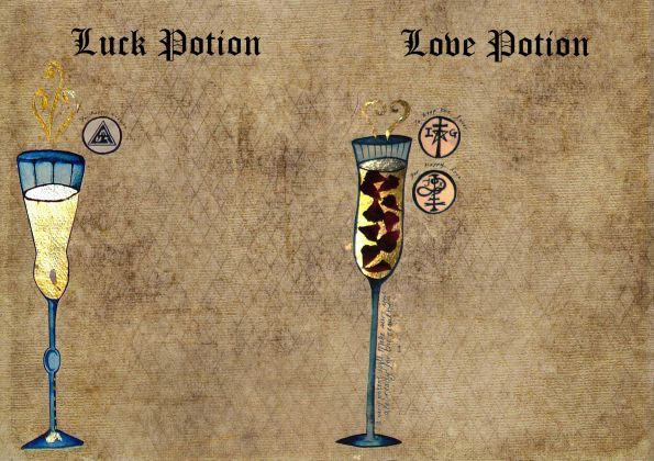 Love and happiness Potion